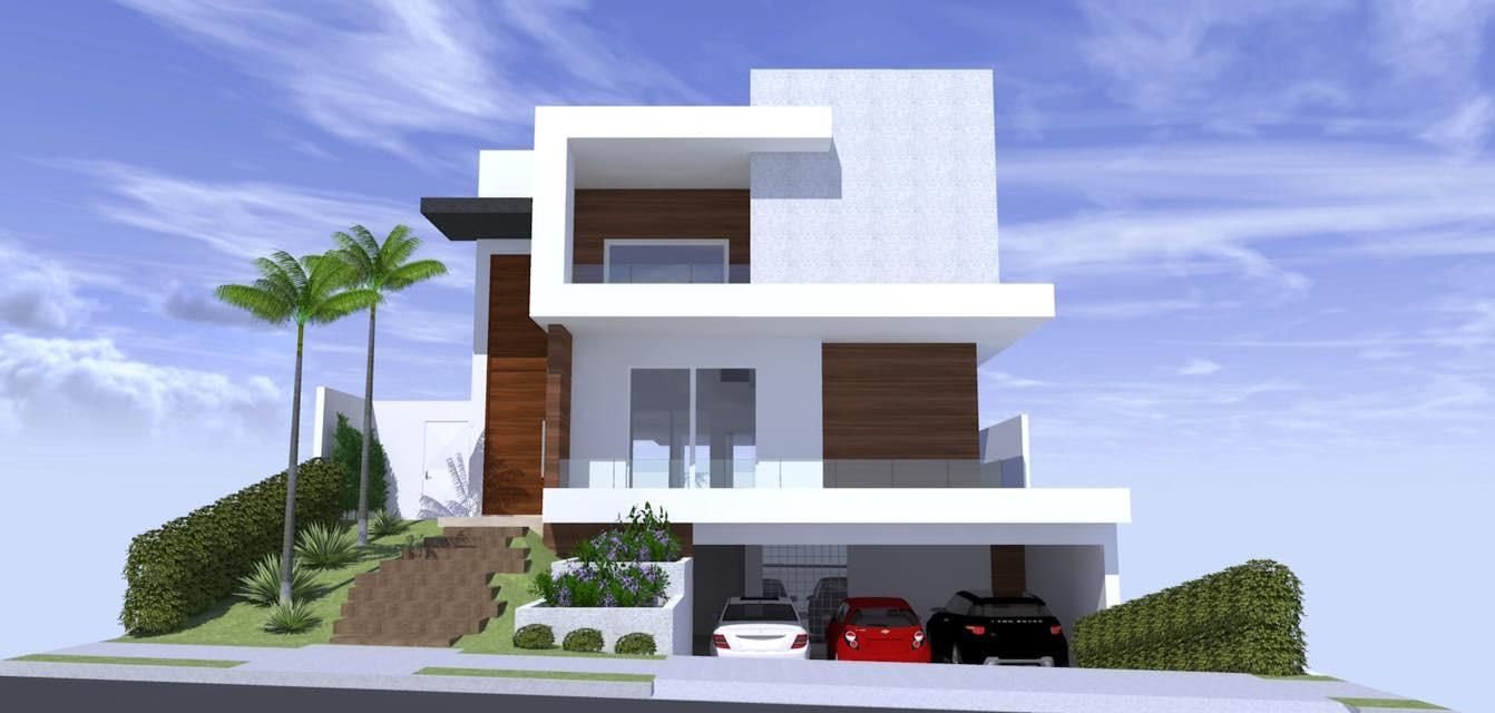 Resid ncia moderna arquitetura zanetti e madi for Casa moderna 2017