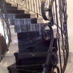 Residência Neoclássica em Rio Preto Detalhes Escada