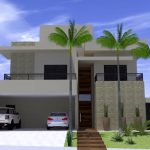 Projeto de Casa Moderna Fachada