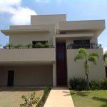 Fachada de Casa Moderna pronta