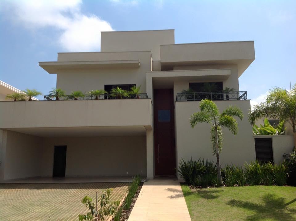 Resid ncia moderna arquitetura zanetti e madi for Fachadas de casas rojas modernas