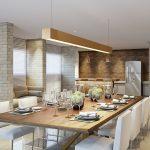 Espaço Gourmet em Edifício por Arquitetos