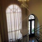 Residência Neoclássica Detalhes Lustre