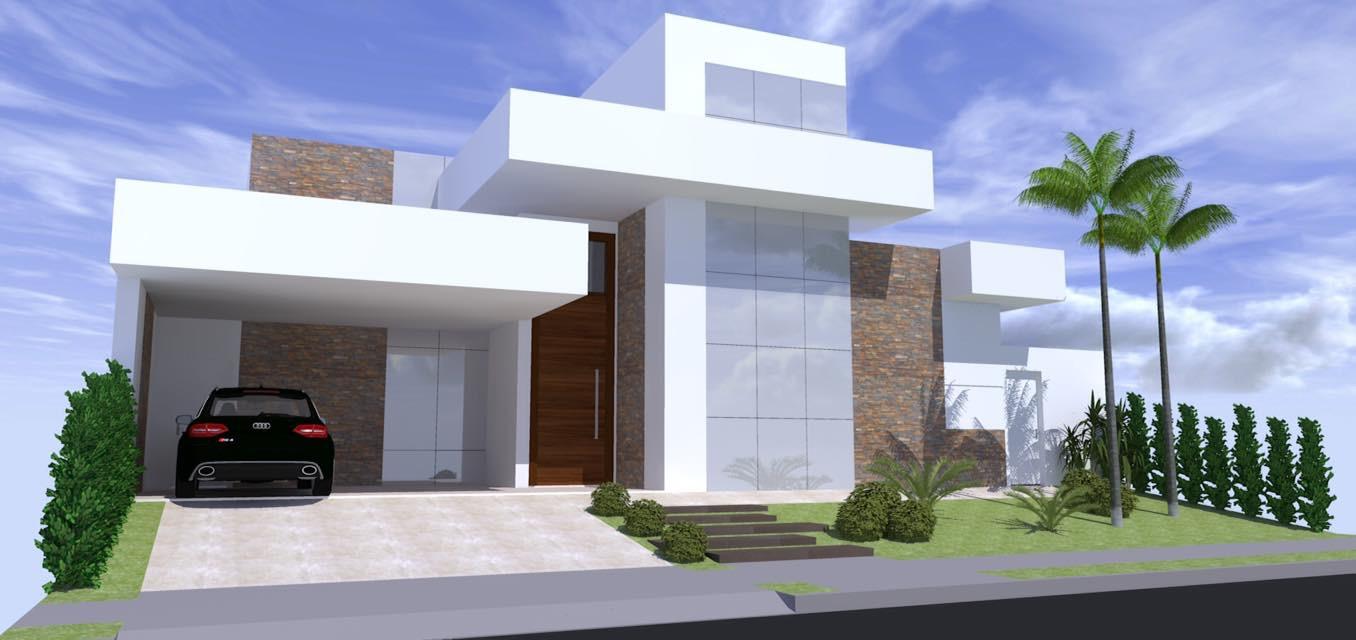 Projeto casa moderna arquitetura zanetti e madi for Casa moderna 150 m2