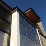 Detalhes da Área Externa em Casa com Arquitetura Moderna