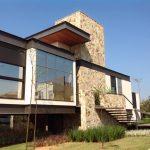Arquitetura Moderna Casa Frente Lateral