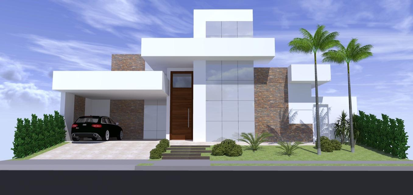 Projeto casa moderna arquitetura zanetti e madi for Casa moderna numero 2