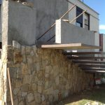 Casa com Arquitetura Moderna em São José do Rio Preto - Detalhes da Escada