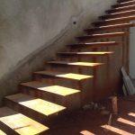 Detalhes da Escada em Casa com Arquitetura Moderna