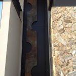 Detalhes Porta de Entrada Casa com Arquitetura Moderna
