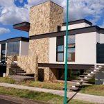 Arquitetura Moderna Casa Fachada Lateral