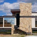 Arquitetura Moderna Casa Fachada Frente