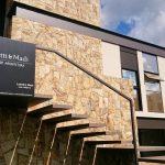 Arquitetura Moderna Casa Fachada Frontal Detalhes