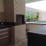Arquitetura Moderna -Área Gourmet Residencia em Rio Preto
