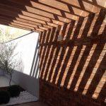 Arquitetura Moderna - Detalhes Pergolado Residencia em Rio Preto