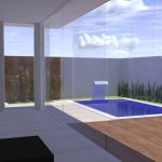 Projeto Arquitetura Neoclássica Área de Lazer Casa - Interna