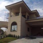 Arquitetura Neoclássica Acompanhamento Obra Frente da Casa