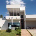 Arquitetura Moderna - Fachada Residencia em Obra em Rio Preto