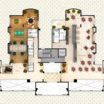 Planta do Apartamento no Edifício Quinta Estrela por Zanetti e Madi Arquitetos em São José do Rio Preto